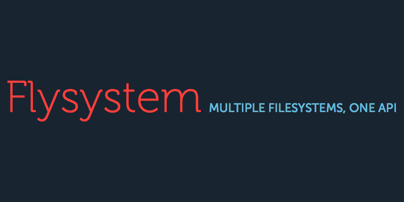 Flysystem · Scrapbook · PHP cache library